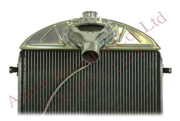 Bentley Radiator upgraded with a modern pack-construction core