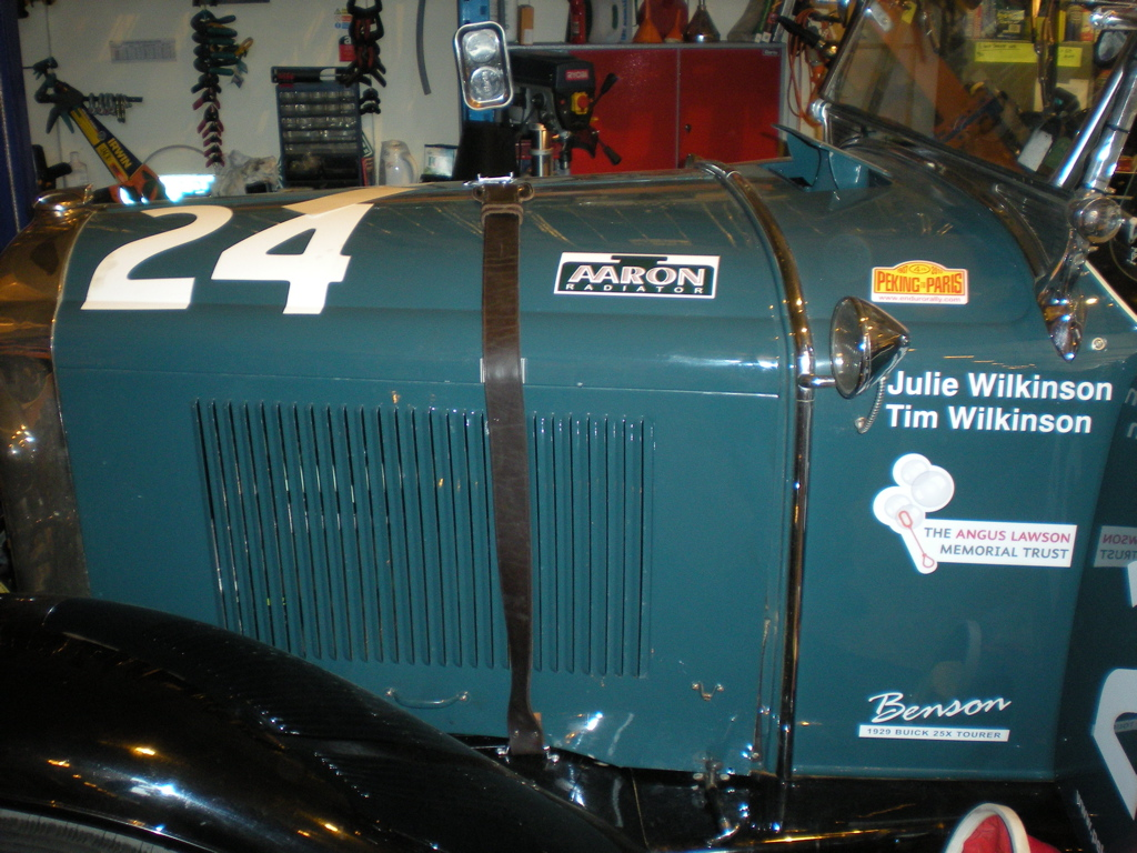 1929 Buik 25X Phaeton Entered into the 2010 Peking Paris Rally