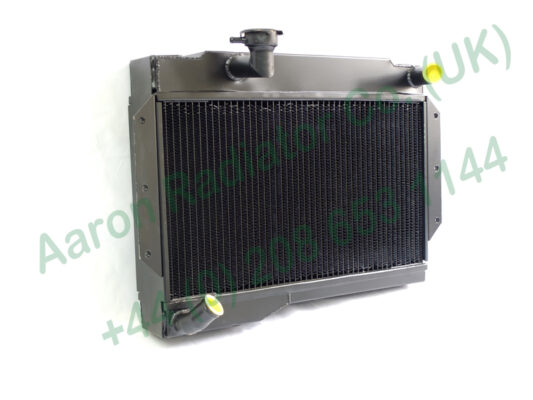 Massive upgrade copper radiator for ex work MGB - DRX 255C