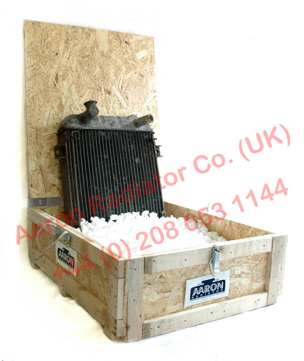 Classic car radiator collection crate
