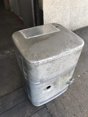 Mercedes Truck fuel tank repair